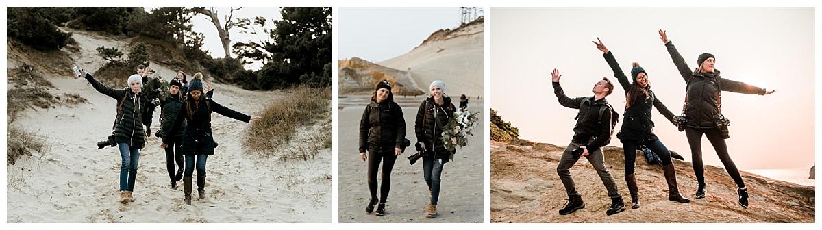 oregon coast engagement photographers