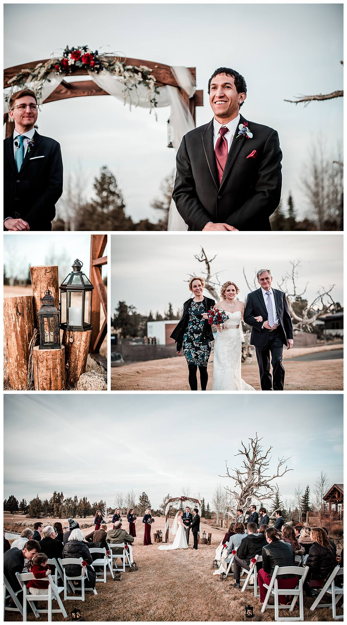 PNW Wedding photography at the Pronghorn Resort Bend OR