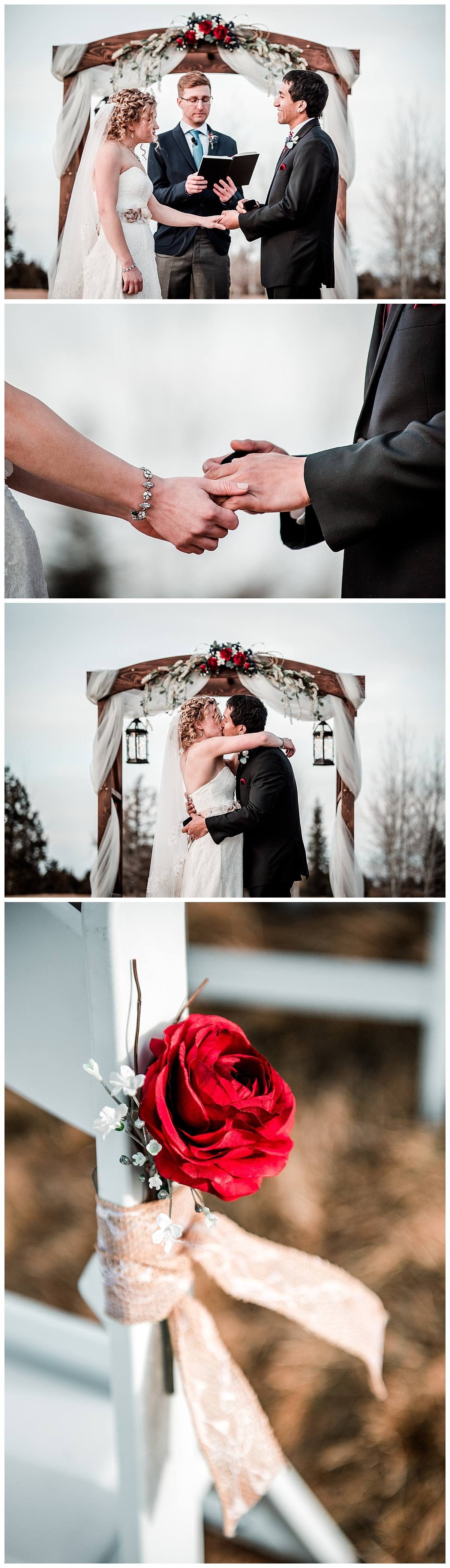 Pronghorn Resort winter wedding pictures