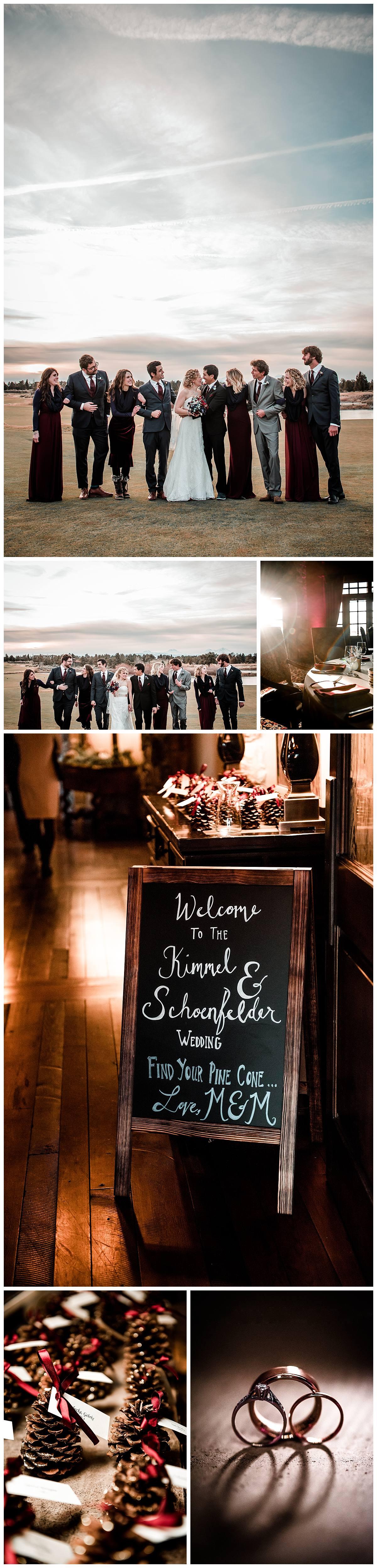Pronghorn resort wedding photographs