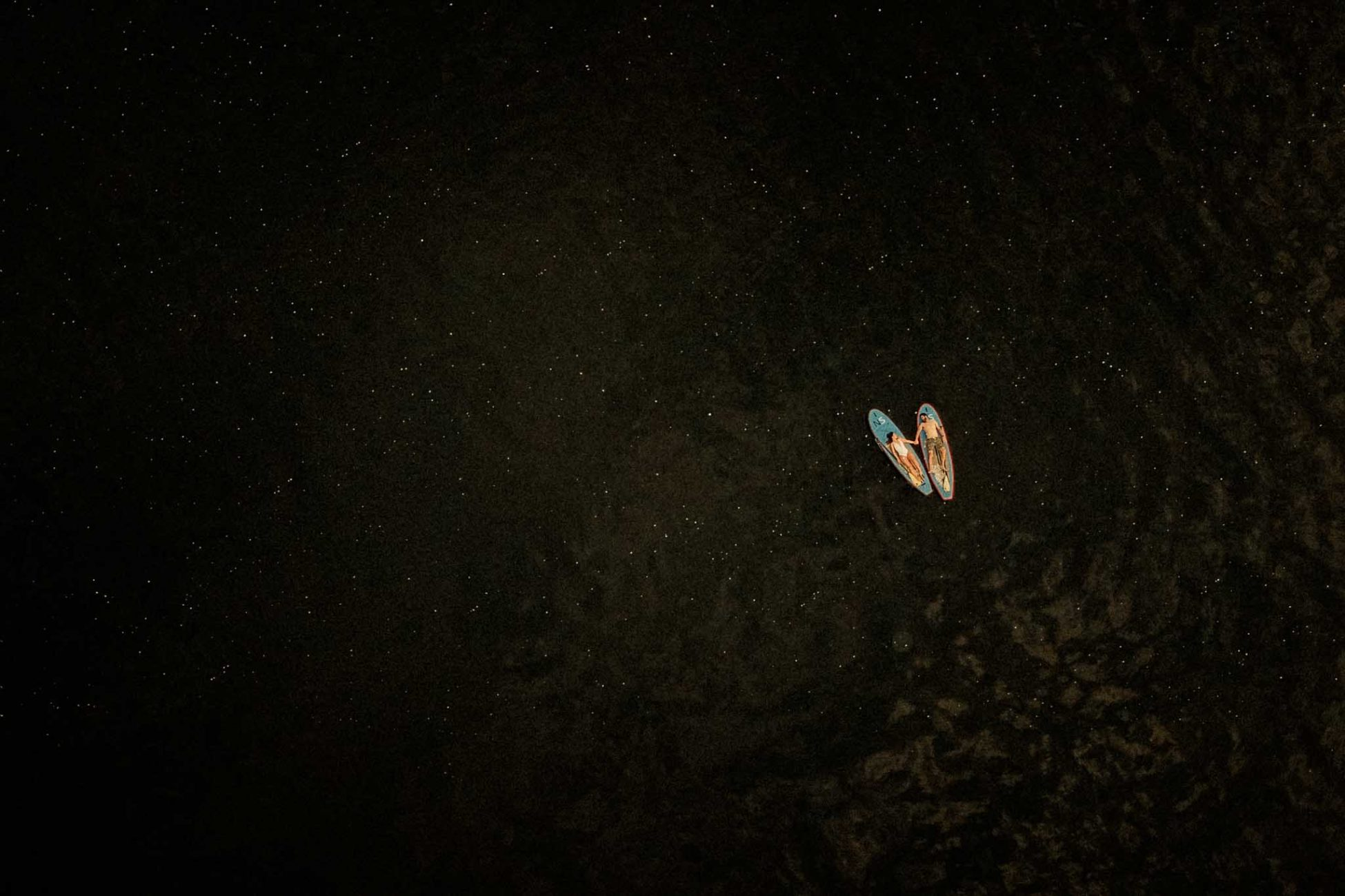 Paddle Board SUP Engagement Photograph taken on Canyon Lake Arizona by PNW photographer Dionne Kraus