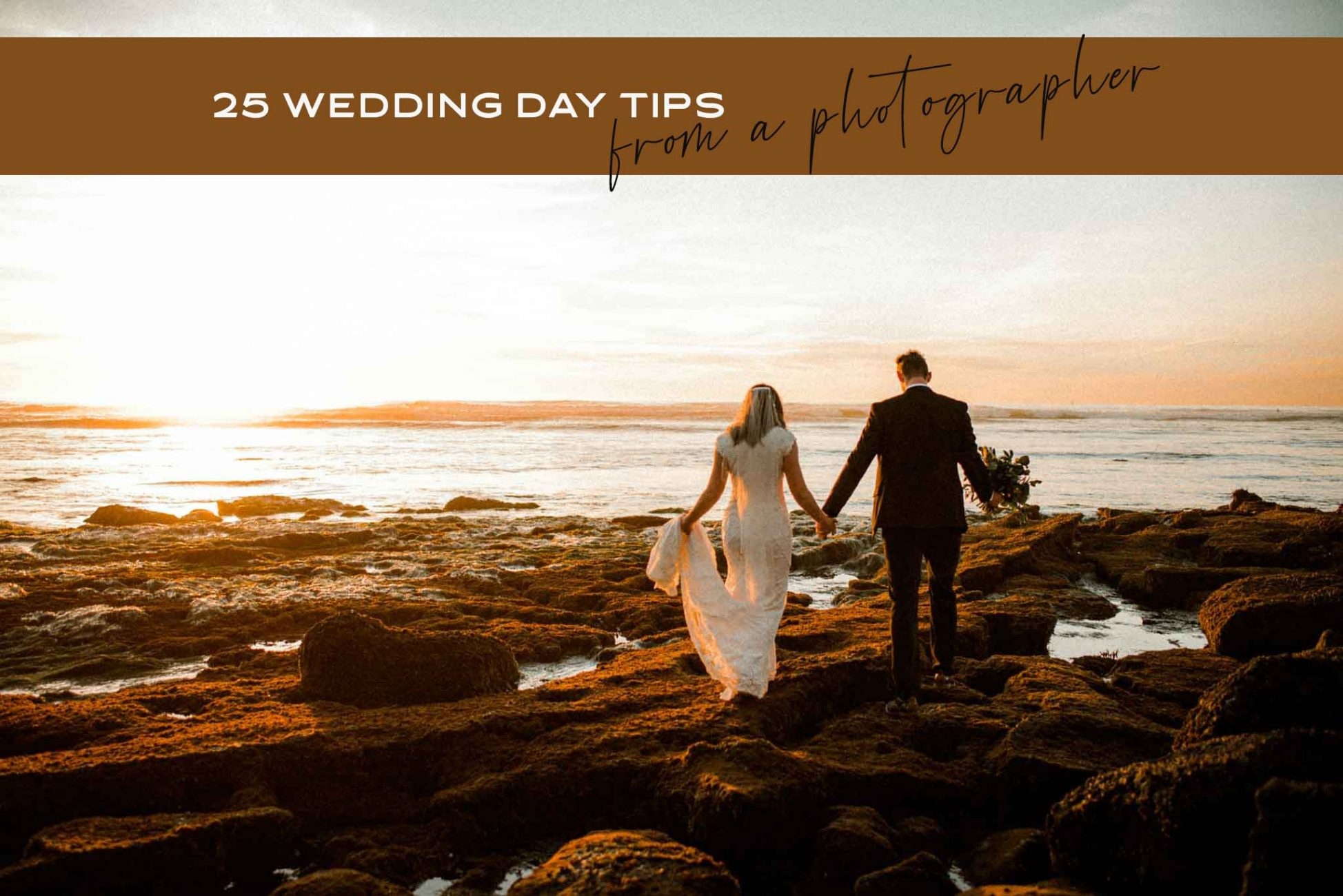 25 Wedding Day Tips for kickass photos from a professional wedding photographer